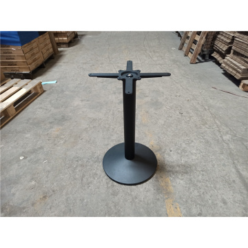 commercial use round steel table base
