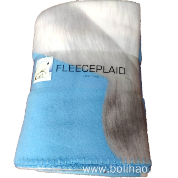 Two Side Brushed Polar Fleece Blanket Throws