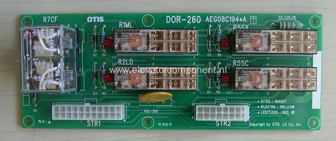 Relay Board for LG Sigma Elevators DOR-260