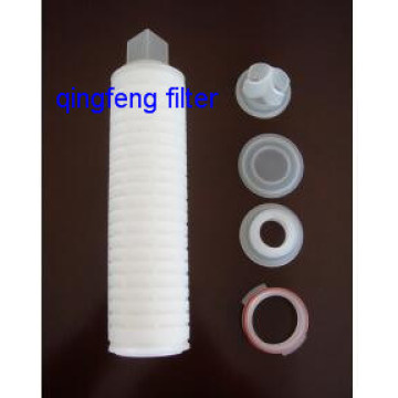 10Inch 0.45um Pes Pleated Filter Cartridges