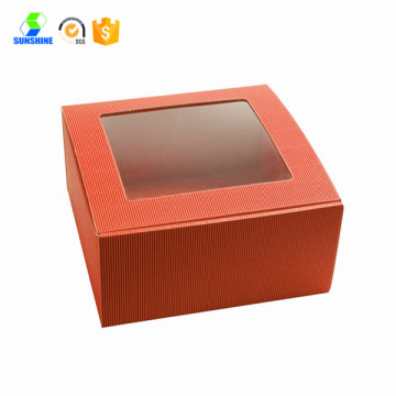 take away cake box with window