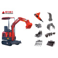 Hot sale mini excavator 0.8T 1T for sale