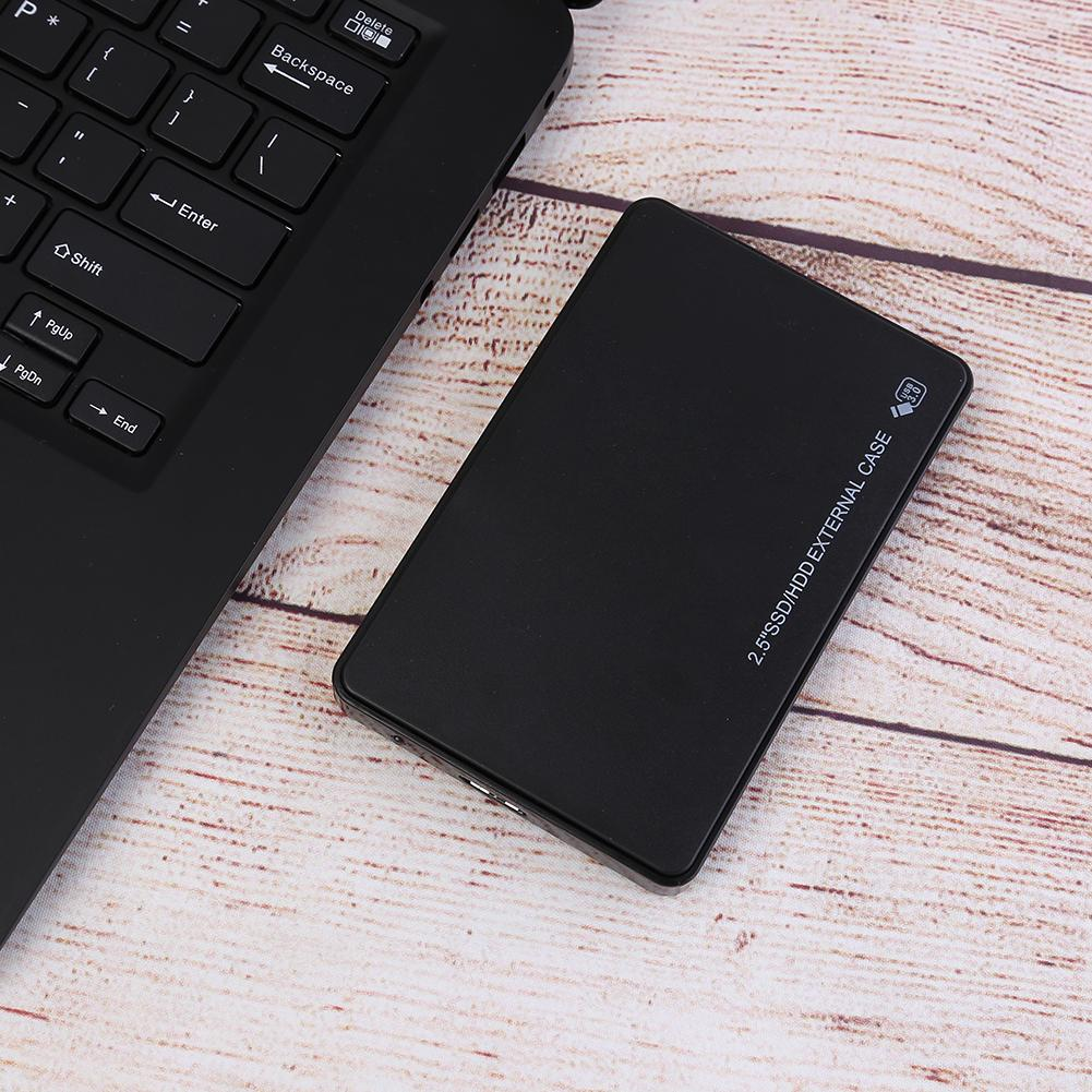 HDD Case 2.5 inch SATA to USB3.0 Adapter Hard Drive Enclosure HDD For SSD Disk Case HDD Box USB 3.0 HD External HDD Enclosure