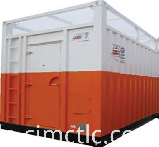 Integrated Workshop Container