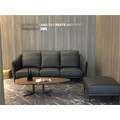 Mini Leather Sofa for Small Living Room