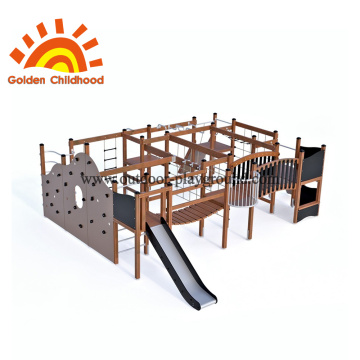 Building an outdoor play structure for toddlers