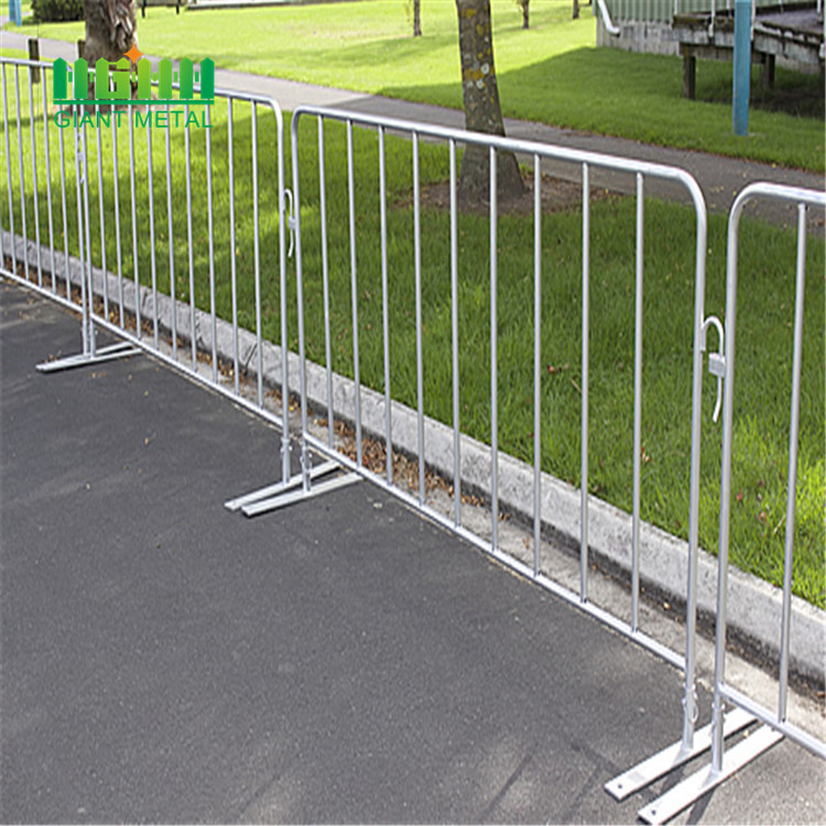 Portable crowd control fence panels