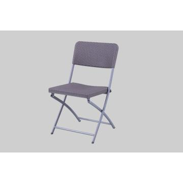 HDPE White Plastic Folding Chair for Garden
