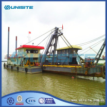 Cutter suction marine dredger