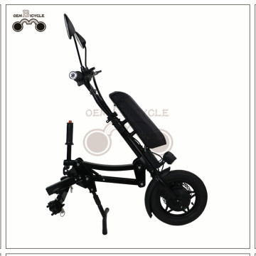 Movable Electric Driving Parts for Manual Wheelchair