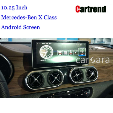 Benz X Class Navigation Display Upgrade