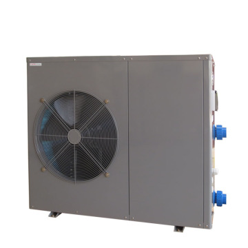 Grey Metal Swimming Pool Heat Pump Heater