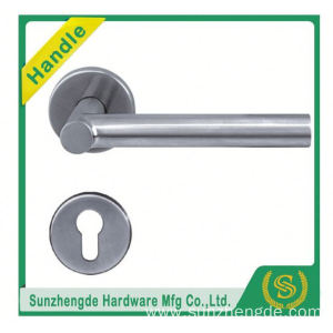 SZD STH-113 Popular Round Wooden Wholesale Stainless Steel Tube Door Knobs Handle304 with cheap price