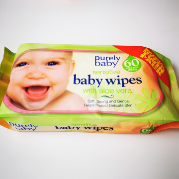 Natural Sensitive Baby Wipes Eco Friendly