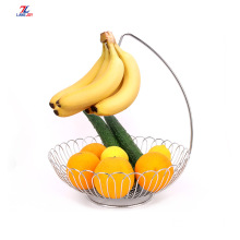 new style Fruit Basket With Banana Hanger