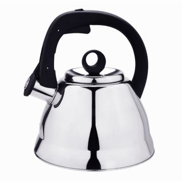 Stainless steel induction stovetop tea kettle