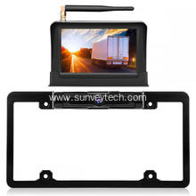 License Frame Kamera ine Monitor 5inch