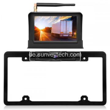 License Frame Kamera mit Monitor 5inch