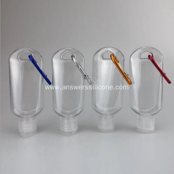 Travel Bottles Refillable Hand Sanitizer Bottles with Hook