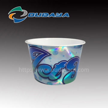 Laser effe Cup Customized Ice Cream Packaging