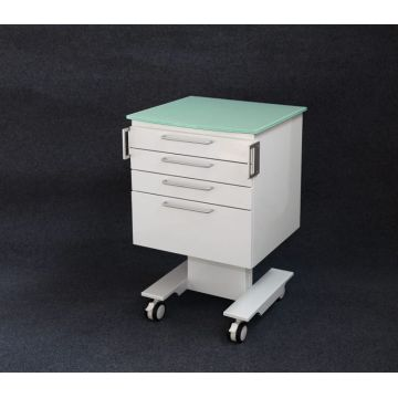 Dental mobile cart cabinet