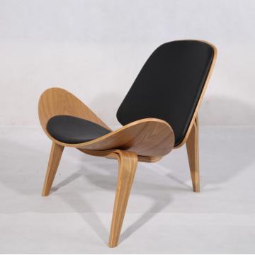 CH07 Plywood Hans Wegner Shell Chair Replica