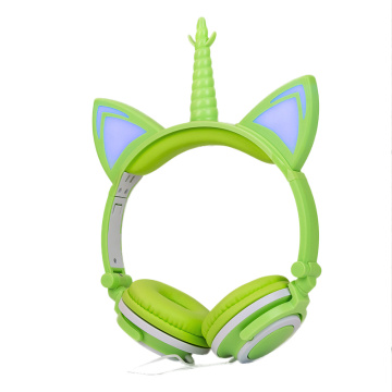 Stylish Unicorn Headphone for Children Girls Christmas Gift