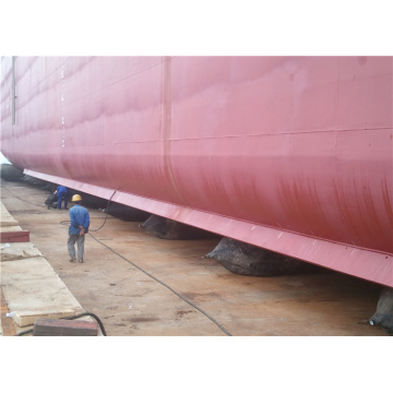 Ship Launching Marine Airbag Goedgekeurd ISO14409