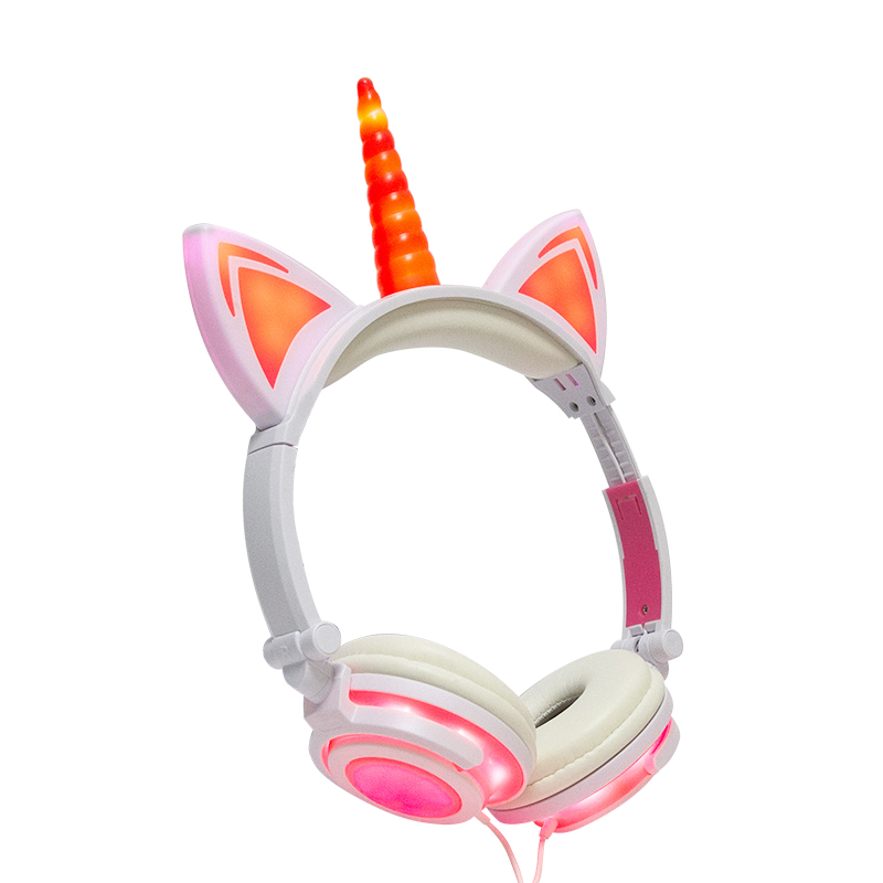 Mobile Rechargeable Headset Headphones Unicorn Headphone