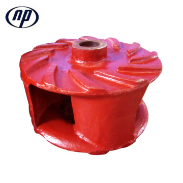 Gravel Pump Spare Parts Impeller Design