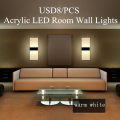 Hotel Acrylic Wall Chandelier LED Lights