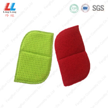 United shape dish washing style sponge