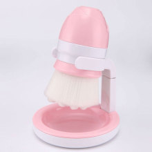 Deep Cleaning Manual Facial Brush with Holder