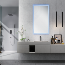 Rectangular LED bathroom mirror MH16