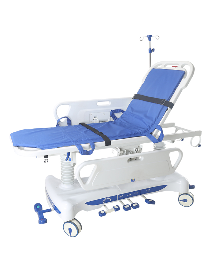 Hydraulic hospital stretcher 1
