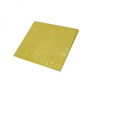 Yellow Poly Tarps heavy-duty