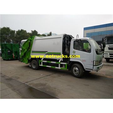 6000 Litres 130HP Compressed Trash Vehicles