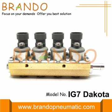 2 Ohm 4 Cylinder IG7 Dakota Rail Injector