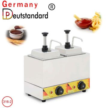 Hot sale sauce warmer dispenser for sale