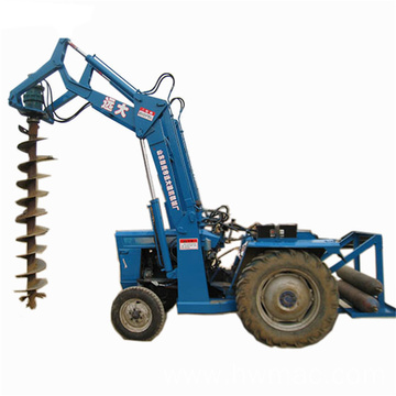 Tractor mounted post hole digger parts