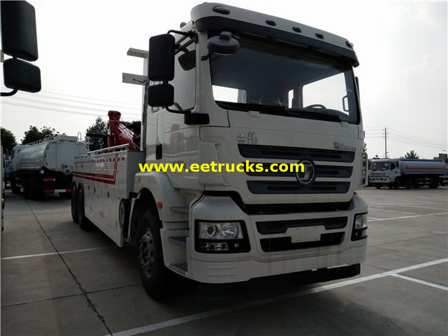 SHACMAN Heavy Duty Recovery Trucks