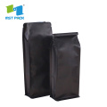 Stand Up Pouch With Degassing And Zipper