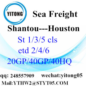 Shantou Logistic Shipping Service to Houston