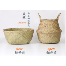weaving matress grass flower decoration pot