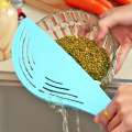 Cook Tool Clean Rice Wash Rice Sieve Manual Kitchen Cooking Tools Utility Home Water Treatment Whale-shape Rice Washing Device