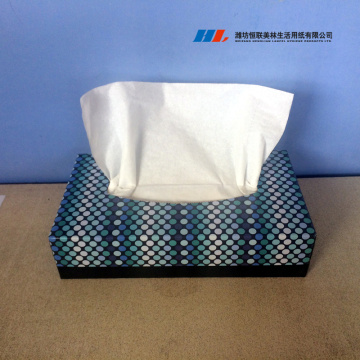 OEM Customed White Soft Box Facial Tissue