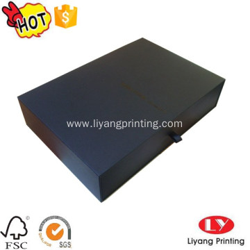 Jewelry packaging drawer box with logo printed