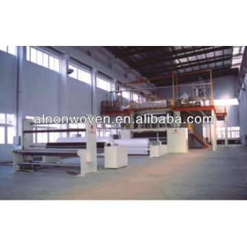 2400MM PP spunbond non woven fabric machine
