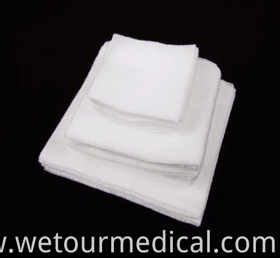 100%Cotton Medical Gauze Swabs Sheet