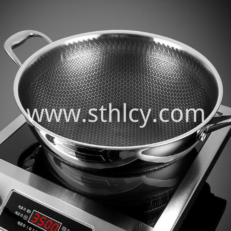 stainless steel pan aluminum core